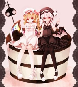 Rating: Safe Score: 16 Tags: dress flandre_scarlet lolita_fashion remilia_scarlet ringpearl touhou User: yumichi-sama