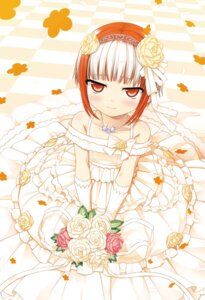 Rating: Safe Score: 42 Tags: cura digital_version dress lose monobeno sumi_(monobeno) wedding_dress User: Twinsenzw