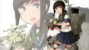 Rating: Safe Score: 18 Tags: fubuki_(kancolle) kantai_collection seifuku shibafu User: h71337