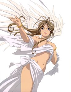 Rating: Questionable Score: 38 Tags: ah_my_goddess belldandy matsubara_hidenori naked wings User: Radioactive
