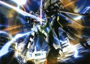 Rating: Safe Score: 8 Tags: gaia_gundam gundam gundam_seed gundam_seed_destiny mecha sword sword_impulse_gundam User: Radioactive