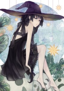 Rating: Safe Score: 32 Tags: dress halloween tomoyoshi_(miso) witch User: Radioactive