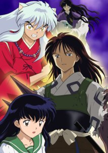 Rating: Safe Score: 3 Tags: animal_ears higurashi_kagome inumimi inuyasha inuyasha_(character) japanese_clothes musou naraku seifuku torn_clothes User: charunetra