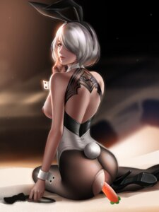 Rating: Explicit Score: 110 Tags: animal_ears ass breasts bunny_ears bunny_girl dildo heels liang_xing nier_automata nipples no_bra nopan pantyhose pussy_juice tail torn_clothes yorha_no.2_type_b User: mash