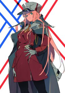 Rating: Safe Score: 16 Tags: darling_in_the_franxx pantyhose uniform y_(artist) zero_two_(darling_in_the_franxx) User: charunetra