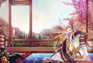 Rating: Safe Score: 12 Tags: domco. horns kimono pixiv_fantasia pixiv_fantasia_new_world User: charunetra