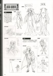 Rating: Safe Score: 4 Tags: baseson character_design koihime_musou monochrome shuuyu sketch sonsaku User: admin2