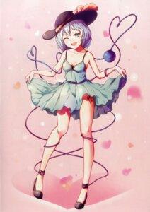 Rating: Safe Score: 24 Tags: cleavage dress heels komeiji_koishi skirt_lift tagme touhou User: kiyoe