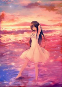 Rating: Safe Score: 61 Tags: coffee-kizoku dress royal_mountain summer_dress User: Radioactive