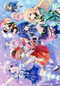 Rating: Questionable Score: 18 Tags: blanc choujigen_game_neptune compa if_(choujigen_game_neptune) kami_jigen_game_neptune_v neptune noire peashy pururut tsunako vert User: Radioactive