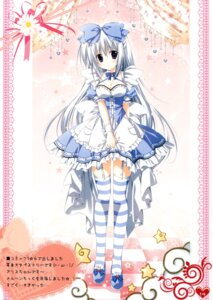 Rating: Safe Score: 44 Tags: alice_(korie_riko) cleavage dress korie_riko lolita_fashion mujin_shoujo stockings thighhighs User: Twinsenzw