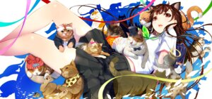 Rating: Questionable Score: 20 Tags: animal_ears mikazuki_akira neko nekomimi seifuku User: Mr_GT