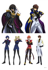 Rating: Safe Score: 8 Tags: akito_the_exiled ashley_ashura bodysuit code_geass eyepatch hyuuga_akito kururugi_suzaku layla_markale lelouch_lamperouge uniform User: drop