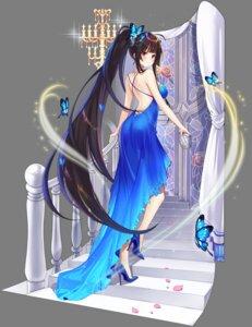 Rating: Safe Score: 47 Tags: agano_(azur_lane) ass azur_lane dress hecha heels no_bra transparent_png User: Arsy