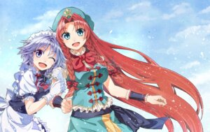 Rating: Safe Score: 7 Tags: hakui_ami hong_meiling izayoi_sakuya touhou User: Mr_GT