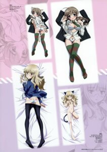 Rating: Questionable Score: 13 Tags: animal_ears ass lynette_bishop megane perrine-h_clostermann strike_witches tail takamura_kazuhiro undressing yamakawa_kouji User: Nepcoheart