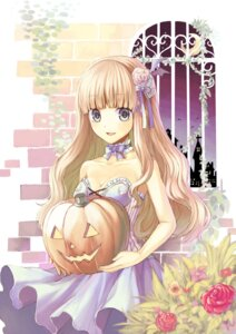 Rating: Safe Score: 28 Tags: cleavage dress halloween midorikawa_you User: hobbito