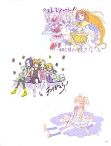 Rating: Questionable Score: 5 Tags: dress heels megane pretty_cure seifuku sketch suite_pretty_cure thighhighs User: drop