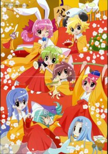 Rating: Safe Score: 7 Tags: chibi crease dejiko di_gi_charat hikaru_usada neko puchiko pyocola_analogue_iii yukata User: Radioactive