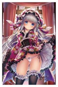 Rating: Questionable Score: 27 Tags: lolita_fashion pantsu skirt_lift sorimura_youji thighhighs User: hiroimo2