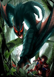 Rating: Safe Score: 7 Tags: monster monster_hunter tagme User: charunetra