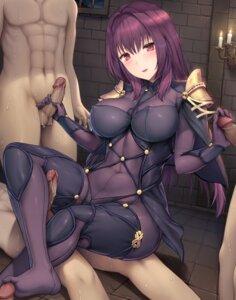 Rating: Explicit Score: 58 Tags: armor bodysuit erect_nipples fate/grand_order feet footjob gangbang handjob penis sayika scathach_(fate/grand_order) User: Mr_GT