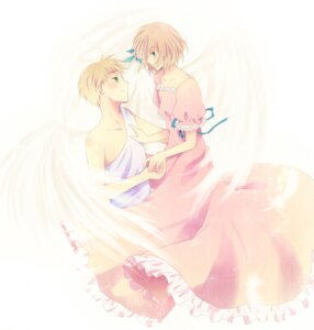 Rating: Safe Score: 3 Tags: amatsuki_jou dress hetalia_axis_powers liechtenstein summer_dress wings User: Radioactive