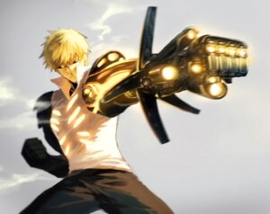 Rating: Safe Score: 25 Tags: abaraya genos male one_punch_man weapon User: Zenex