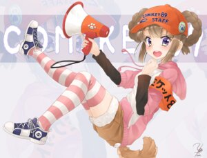Rating: Safe Score: 31 Tags: hyouta_(nekogamirin_c) sweater tail thighhighs User: Mr_GT