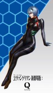 Rating: Safe Score: 35 Tags: ayanami_rei bodysuit neon_genesis_evangelion taekwon_kim User: charunetra