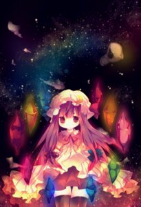 Rating: Safe Score: 14 Tags: ana patchouli_knowledge thighhighs touhou User: Radioactive