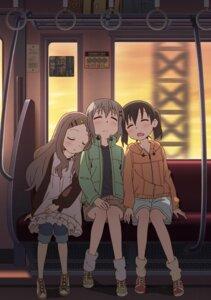 Rating: Safe Score: 38 Tags: aoba_kokona kuraue_hinata shimada_kazuaki yama_no_susume yukimura_aoi User: akusiapa