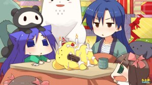 Rating: Safe Score: 20 Tags: akane_(artist) chihyaa kisaragi_chihaya puchimasu! wooser User: animeprincess