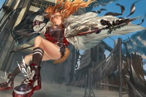 Rating: Safe Score: 8 Tags: angelina_(arknights) animal_ears arknights tail weapon zinz User: Dreista