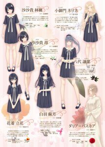 Rating: Safe Score: 30 Tags: dress flowers innocent_grey seifuku sugina_miki User: Radioactive