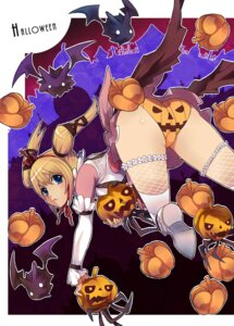 Rating: Questionable Score: 48 Tags: ass caee_penguin claire_(granado_espada) fishnets granado_espada halloween pantsu thighhighs User: Shamensyth