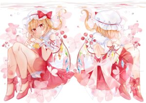 Rating: Safe Score: 20 Tags: bloomers flandre_scarlet heels moko_(3886397) skirt_lift touhou wings User: Mr_GT