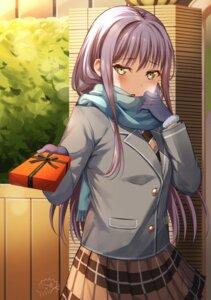 Rating: Questionable Score: 19 Tags: bang_dream! mia_(fai1510) minato_yukina seifuku valentine User: Dreista