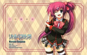 Rating: Safe Score: 28 Tags: little_busters! saigusa_haruka seifuku thighhighs tomose_shunsaku wallpaper User: Animextremist