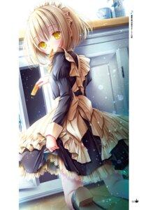 Rating: Safe Score: 25 Tags: heels kaneshiro_sora maid pantyhose see_through skirt_lift tagme tenshi_no_three_piece! tinkle User: kiyoe