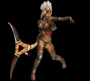 Rating: Safe Score: 3 Tags: cg cleavage dynasty_warriors thighhighs zhu_rong User: Radioactive