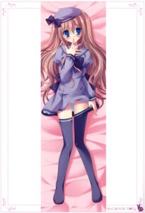 Rating: Questionable Score: 53 Tags: dakimakura pantsu seifuku tanihara_natsuki thighhighs User: crim