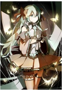 Rating: Safe Score: 38 Tags: hatsune_miku shimai thighhighs vocaloid User: Masutaniyan