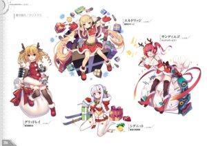 Rating: Questionable Score: 10 Tags: animal_ears azur_lane breast_hold christmas cygnet_(azur_lane) eldridge_(azur_lane) gridley_(azur_lane) horns san_diego_(azur_lane) stockings tagme thighhighs User: Twinsenzw