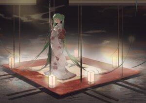 Rating: Safe Score: 26 Tags: hatsune_miku kimono vocaloid yingfeng862 User: Mr_GT
