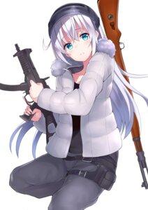 Rating: Safe Score: 30 Tags: gun hibiki_(kancolle) kantai_collection nagiha_kuten User: BattlequeenYume