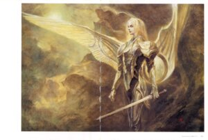 Rating: Safe Score: 3 Tags: armor crease suemi_jun sword wings User: Radioactive