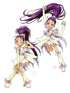 Rating: Questionable Score: 4 Tags: futari_wa_pretty_cure_splash_star kawamura_toshie mishou_mai pretty_cure User: drop