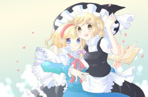 Rating: Safe Score: 3 Tags: alice_margatroid kirisame_marisa mearo touhou User: Radioactive