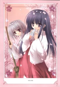 Rating: Safe Score: 7 Tags: japanese_clothes miko tinkle User: noirblack
